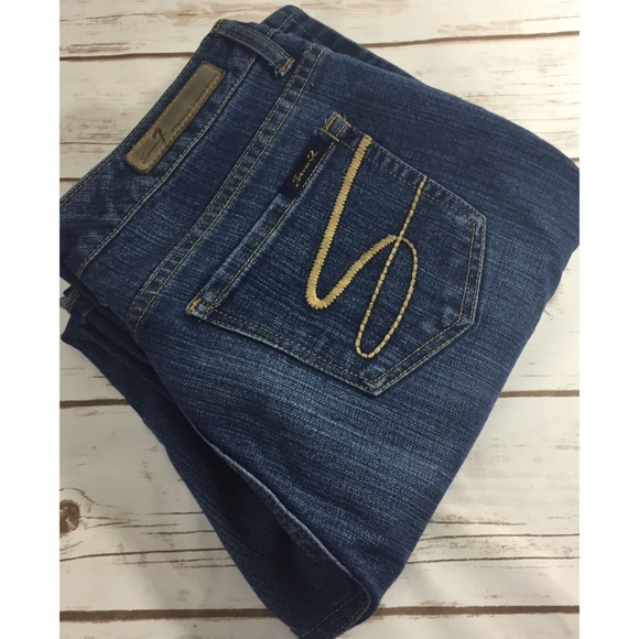 Seven7 Denim - Seven flares size 10 inseam 31 inches