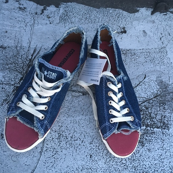9839c8db7b6e Converse Allstars Peeptoe Sneakers