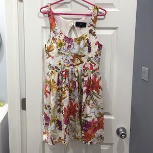 Jack by BB Dakota Floral Printed Dress Size Small