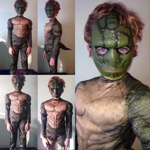 Disguise Costumes The Amazing Spiderman Lizard Costume Poshmark