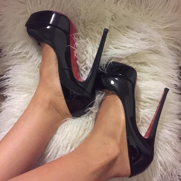 b7055ca8aabd Christian Louboutin Shoes - Christian Louboutin Lady Peep