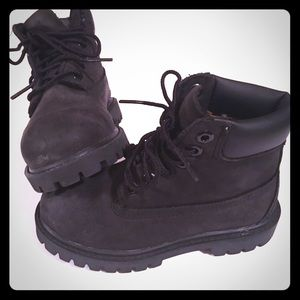 Timberland Other - *Almost New* Black Timberland's - Toddler