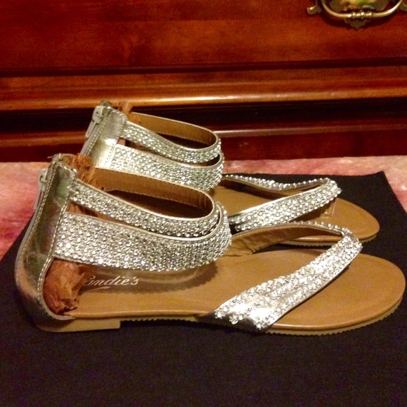510883c7a Candie s Shoes - CANDIES Embllshd GLADIATOR THONG SANDALS ...