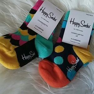 Happy Socks Other - Bundle of 4 Infant Happy Socks