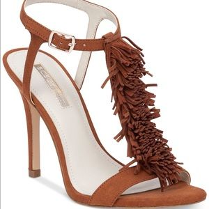 BCBGeneration Shoes - BCBG Generation Clue Heel Sandal, Caramel, NWT