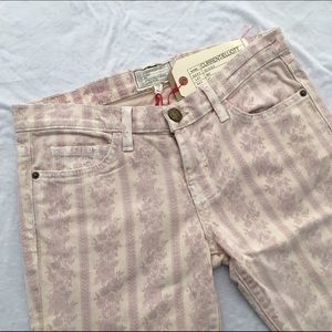 Current/Elliott Stiletto Cropped Skinny Jeans