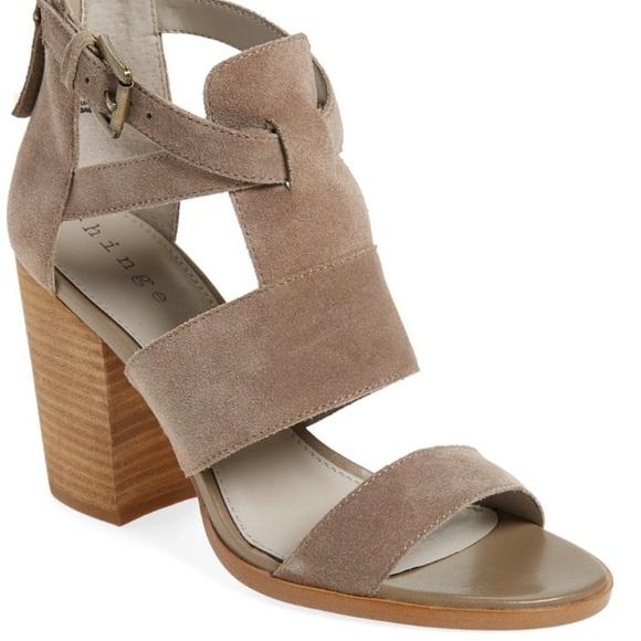 ee8fd7c75e8 Hinge Shoes - Hinge  Cora  Block Heel Sandal
