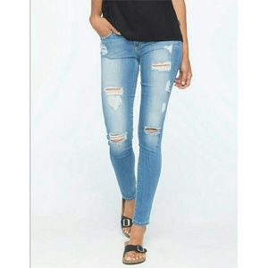 NWT Flying Monkey Distressed Skinny Jeans