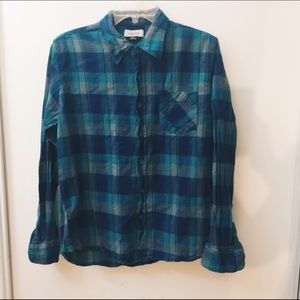 Anchor Blue Other - Small | Men's Flannel