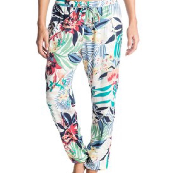 Roxy Pants Tropical Harem Poshmark
