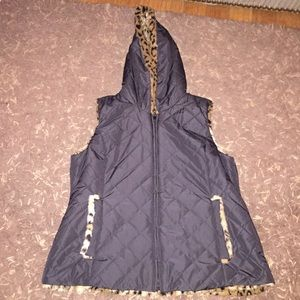 Kristen Blake Jackets & Blazers - Reversible vest