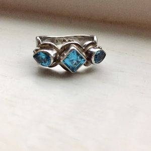Jewelry - beautifulTopaz and silver ring