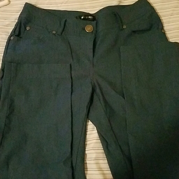 yellow dress shirt grey pants 89th