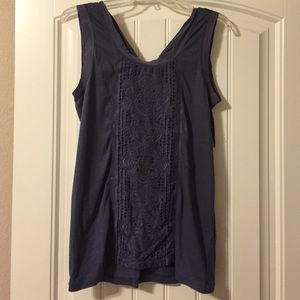 J Crew sleeveless top