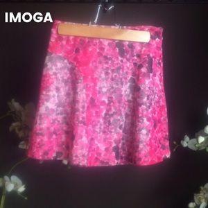 Imoga Other - NWT Imoga Kylie Pink Floral Print Skirt