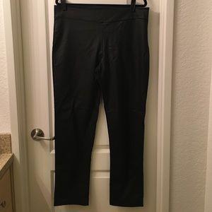 Fashion to Figure Pants - Leather like leggings.