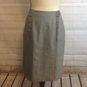 Anthropologie Skirt Girl from Savoy Ruffle Pencil