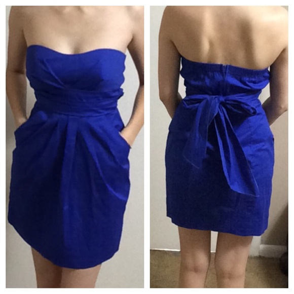 60% off Ruby Rox Dresses & Skirts - Sapphire blue Ruby Rox ...
