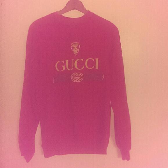 f85e9de2 Gucci Sweaters | True Vintage Bootleg Crewneck Sweatshirt | Poshmark
