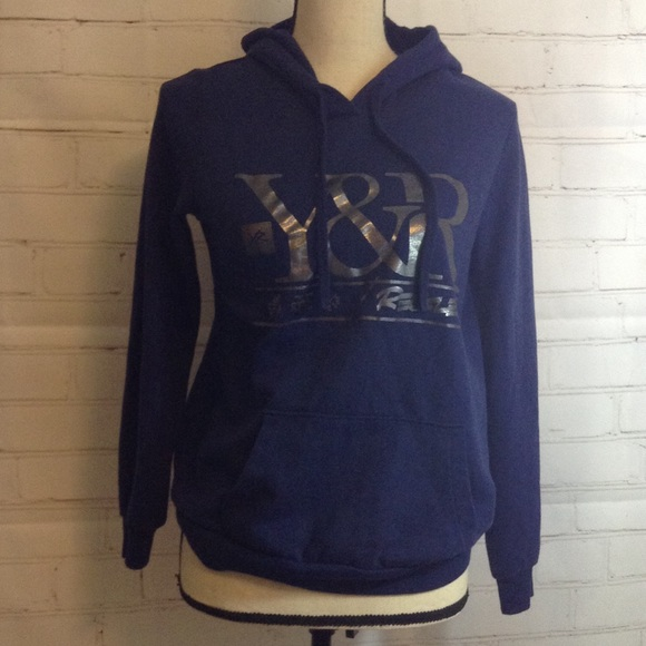 Young & Reckless - Y&R Young & Restless Navy Blue Hoodie ...