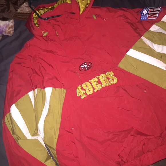 lowest price e20c1 59670 Mitchell & Ness 49ers throwback jacket