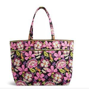 Vera Bradley Handbags - Vera Bradley Grand Tote Bag in Pirouette Pink NWT