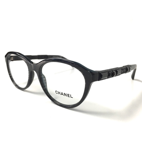 4affd95852b CHANEL Accessories - CHANEL Black Sparkle Eyeglasses BlacK Crystals