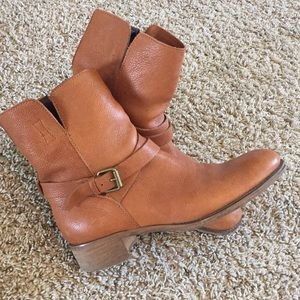 J. Crew Shoes - J. Crew Ryder Leather Boots ~ Adobe ~ 9