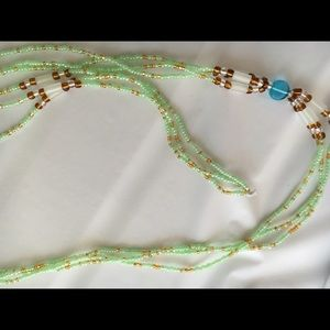 NICE blanc Turquoise rayé Loose Gem Stone Beads Pattern Jewelry Making 4-10 mm