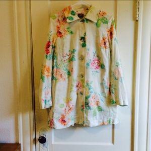 J.jill linen jacket