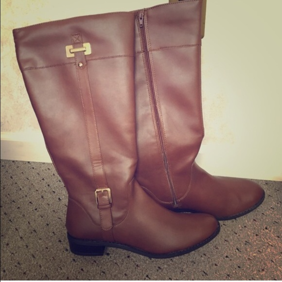 73% off Shoes - NWOT , size 11 wide calf riding boots from ...