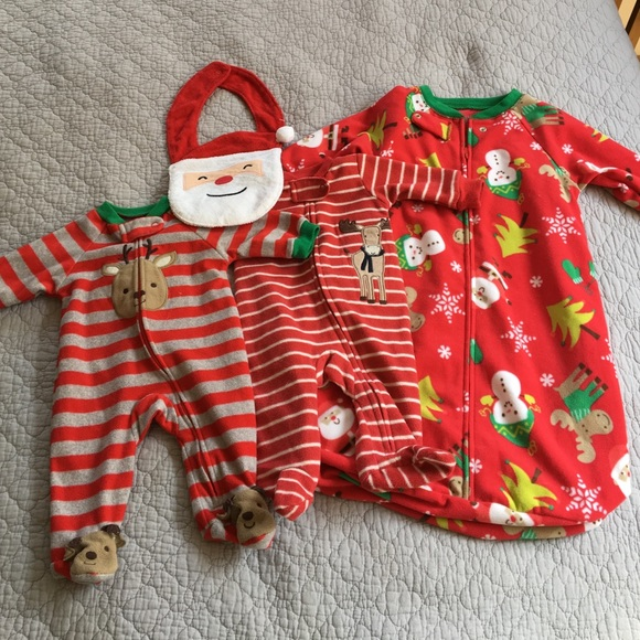 7fa4f6e7b7ea3 Carters baby boy Christmas clothing lot 🎁♥️