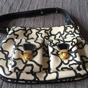 Tous Handbags - Cream and black toys purse