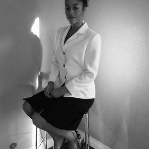 Dresses & Skirts - WHITE BLACK Sz 6 nwot