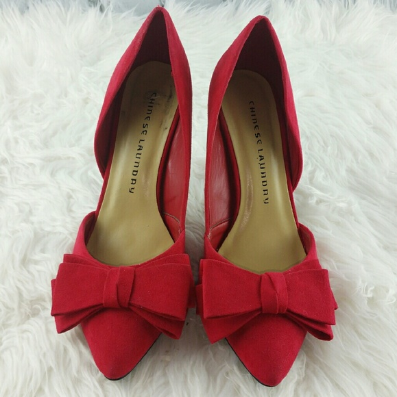 chinese laundry red heels
