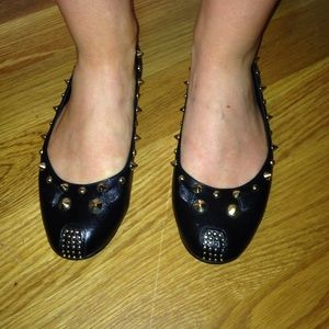 Leather studded Marc Jacobs flats