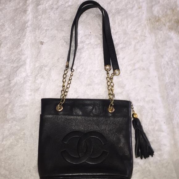 CHANEL Handbags - Vintage Chanel caviar COCO tote 70 s 2be8dce0962f7