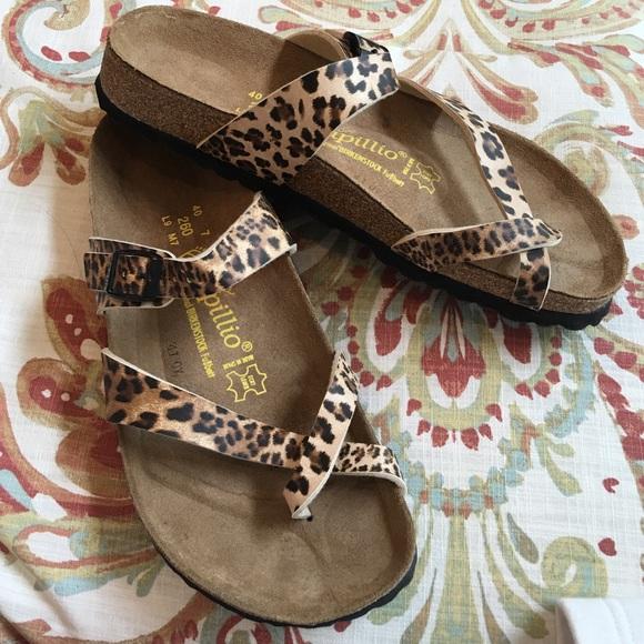 Cheetah Birkenstock Papillio Sandals