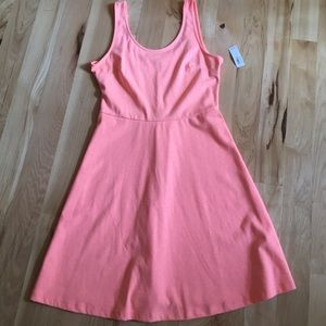 NWT coral-orange size medium dress