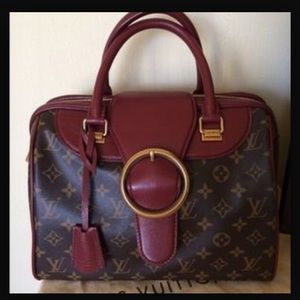 Louis Vuitton golden arrow speedy Bordeaux