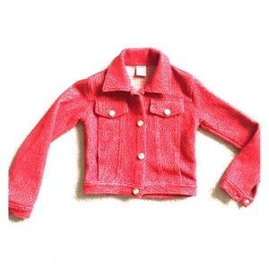 Submarine Other - Classy red blazer for your chic young lady.