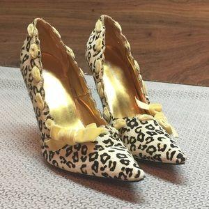 Leopard print Calf Hair Heels