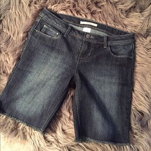 Vanilla Star Pants - Denim Bermuda Shorts