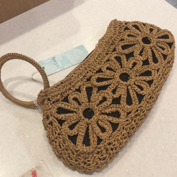 Bags Beautiful Crochet Clutch Hand Bag Poshmark