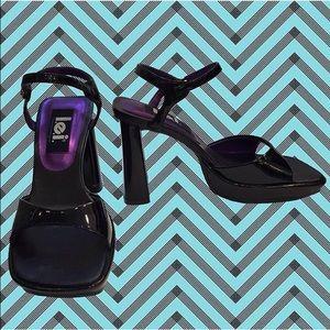 90's LEI Black Chunky Heels