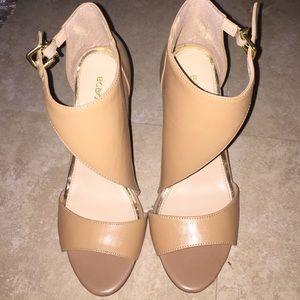 BCBGENERATION nude heels