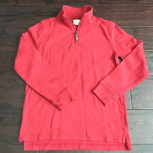J. Crew Other - J.Crew CrewCuts Sueded Half Zip Popover Sweatshirt