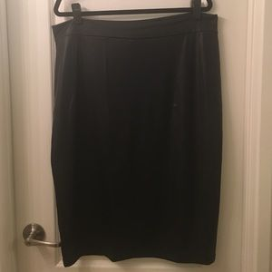 Fashion to Figure Dresses & Skirts - Sexy faux leather skirt.