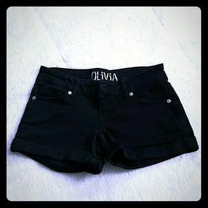 Pants - Black Delia's shorts