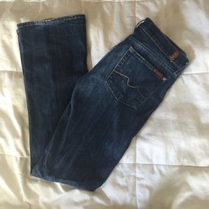 7 For All Mankind Bootcut short inseam
